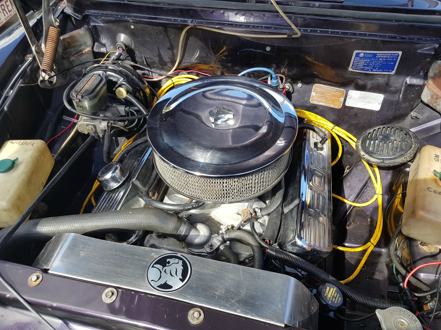Holden FC 308 - Engine Rebuild Completed