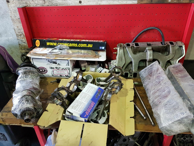 Holden FC 308 Engine Rebuild 2