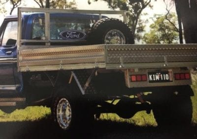 Fully customised ute sides and side steps